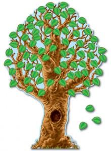 Realistic Big Tree Decoration