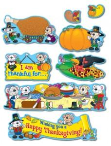 Thanksgiving Themed Bulletin Board Set