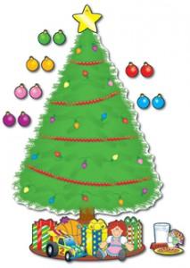 Christmas Tree Bulletin Board Decoration