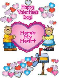 Here's My Heart Bears Bulletin Board Decor