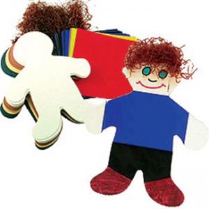 Culturally Diverse Craft Dolls