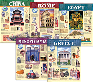 Picture of Ancient civilization chart pack