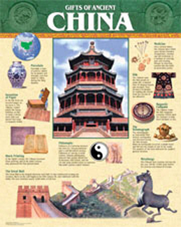 Picture of Ancient china chart