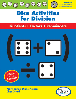 Picture of Dice activities for division gr 4-6