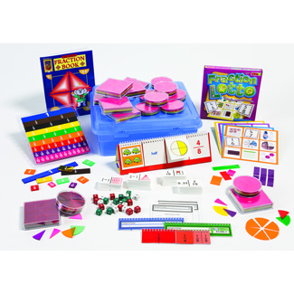 Picture of Elementary fraction kit