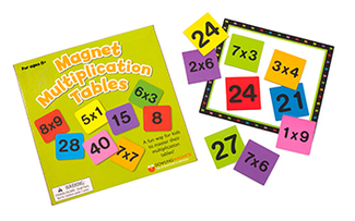 Picture of Magnetic multiplication tables