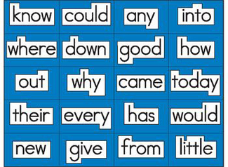 Picture of Magnet literacy high frequency word  magnets gr 1-2