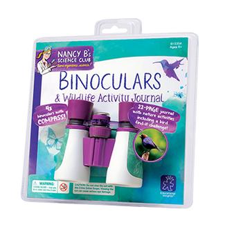 Picture of Nancy b science club binoculars &  wildlife activity journal