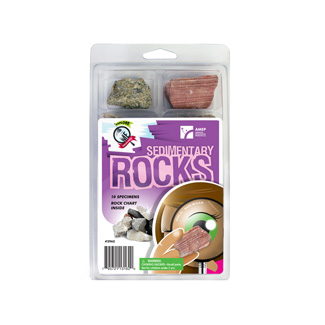 Picture of Explore with me geology sedimentary  rocks set