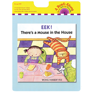 Picture of Eek theres a mouse in the house  carry read along book & cd
