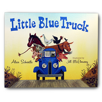 Picture of Little blue truck big book