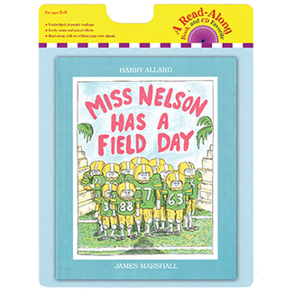 Picture of Carry along book & cd miss nelson  has a field day
