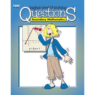 Picture of Secondary mathematics higher level  thinking questions gr 7-12