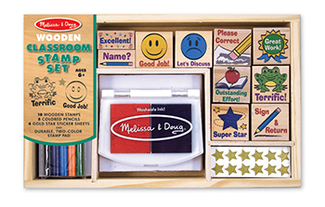 Picture of Classroom stamp set