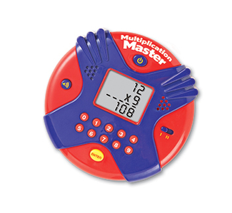 Picture of Multiplication master electronic  flash card