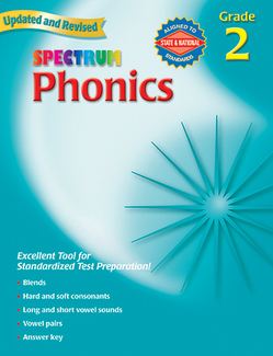 Picture of Spectrum phonics gr 2