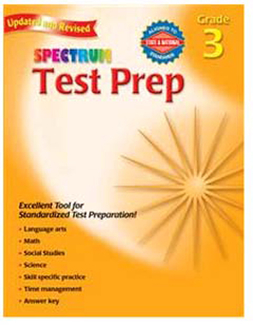 Picture of Spectrum test prep gr 3