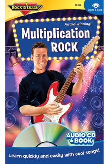 Picture of Multiplication rock cd & book