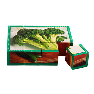 Picture of Vegetables cube puzzle
