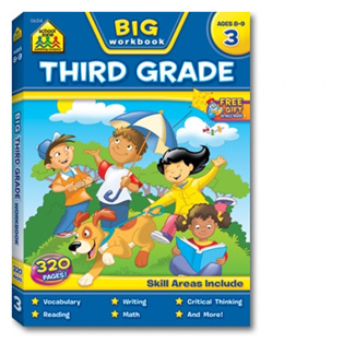 Picture of Big workbook third grade