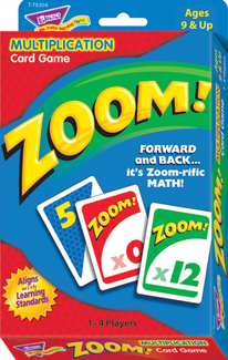 Picture of Zoom multiplication card game