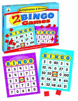 Picture of Multiplication & division bingo