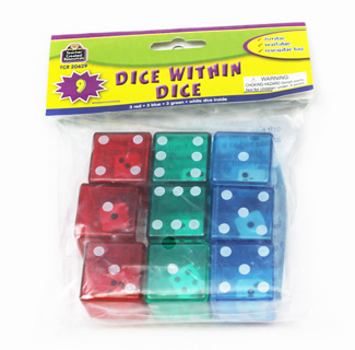 Picture of Dice within dice