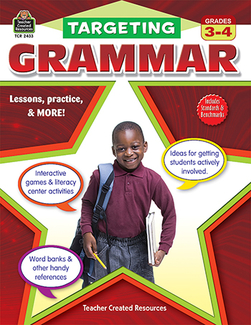 Picture of Targeting grammar gr 3-4