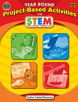 Picture of Year round gr 1-2 project based  activities for stem