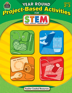 Picture of Year round gr 2-3 project based  activities for stem