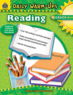 Picture of Daily warm-ups reading gr 4