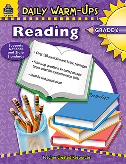 Picture of Daily warm-ups reading gr 6