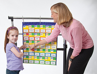 Picture of Classroom management pocket charts  gr k-2