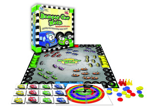 Picture of Bumper car math game multiplication  division
