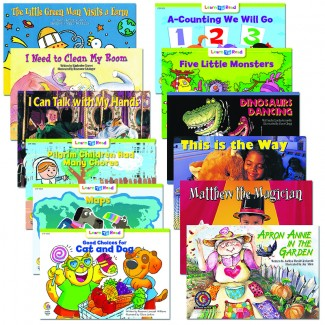 Picture of Learn to read variety pack 9 gr  levels e-f
