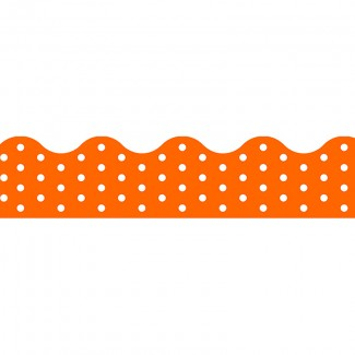 Picture of Polka dots orange terrific trimmers
