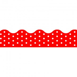 Picture of Polka dots red terrific trimmers