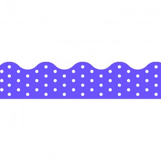 Picture of Polka dots purple terrific trimmers