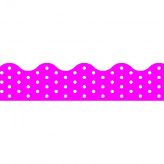 Picture of Polka dots pink terrific trimmers