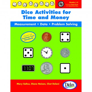 Picture of Dice activities for time & money