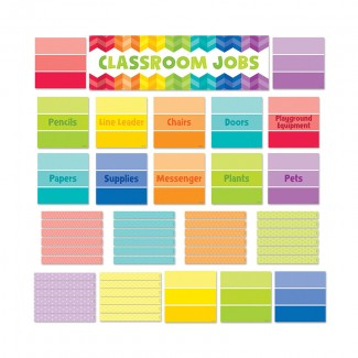 Picture of Classroom jobs mini bb set - paint