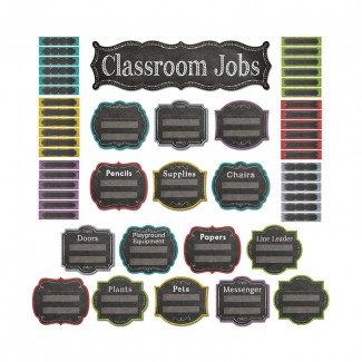 Picture of Classroom jobs mini bb set - chalk
