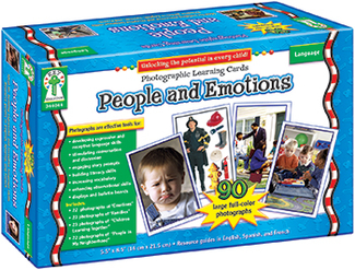 Picture of People and emotions  learning card set
