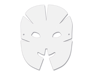 Picture of Dimensional paper masks 40pk