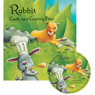 Picture of Rabbit cooks up a cunning plan  traditional tale with a twist