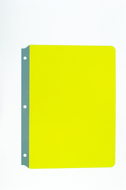 Full page reading guides yellow