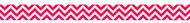 Poppy red chevron border