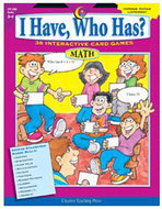 Math gr 3-4 i have who has series
