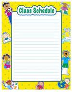 Class schedule classroom  essentials chart