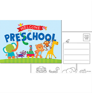 Welcome to preschool postcards